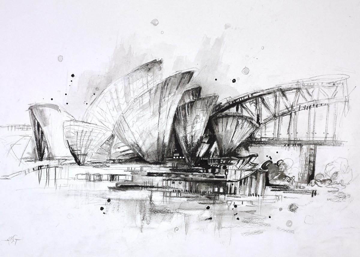 Sydney Opera House Sketch